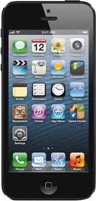 Apple iPhone 5 (Black, with 64 GB)